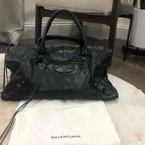 "Balenciaga ""Work"" City Bag"